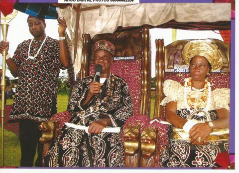 Chukwuka, Okwunakuwa Day, Uvuru